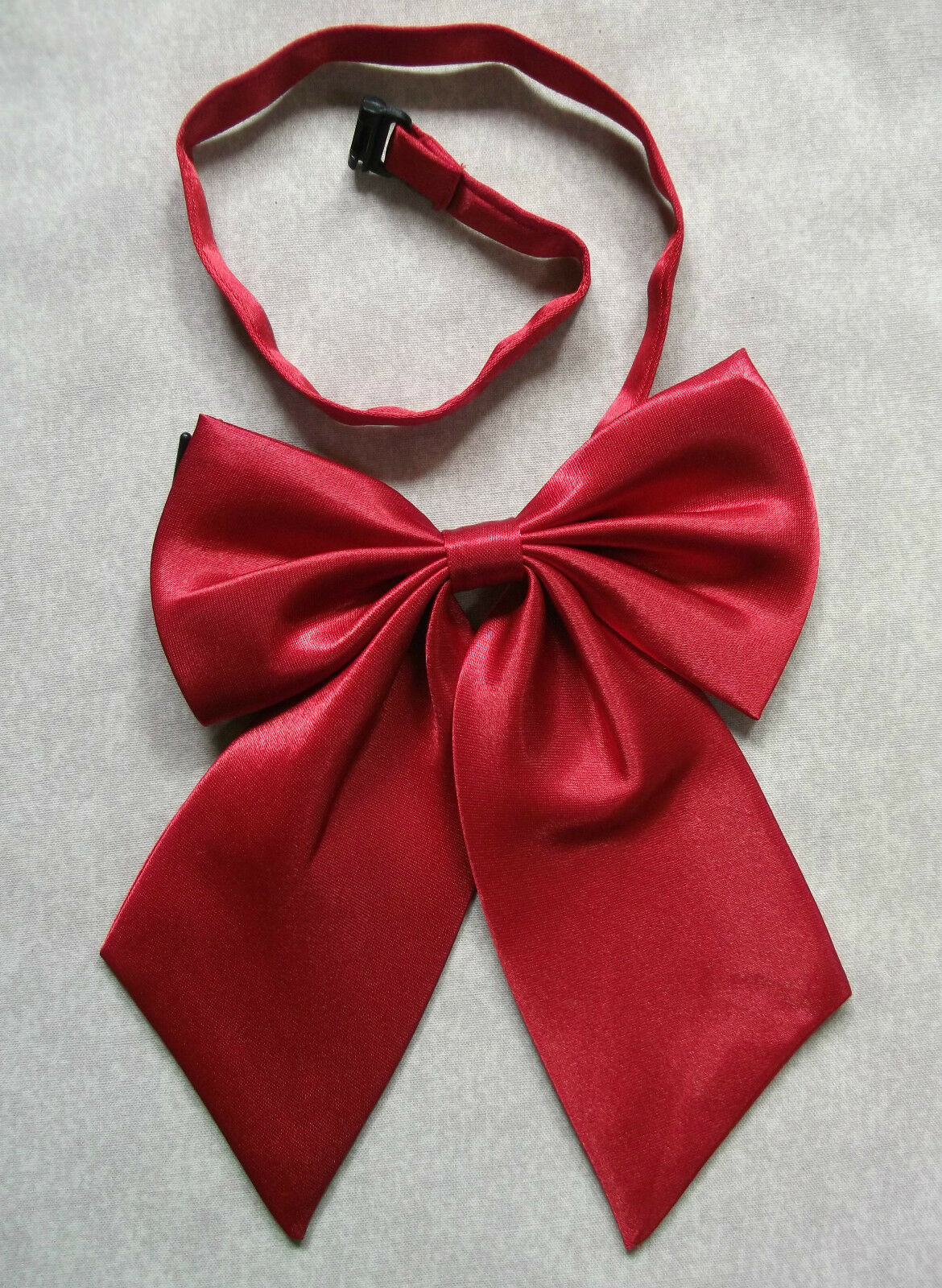 Pussy Bow Tie Retro Womens 198s Style Punk Butterfly Red NEW-show original title