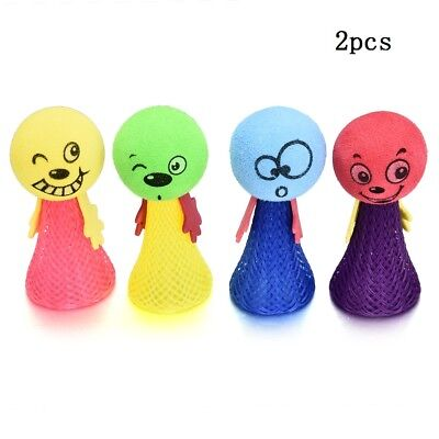 1//5x Plastic Percussion Musical Egg Maracas Shakers Kids Funny Toys 5 Colour JT