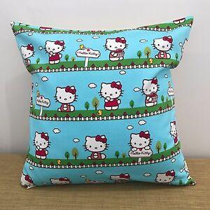 18-034-45cm-BLUE-HELLO-KITTY-Cushion-Cover-Made-Australia