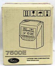 Lathem Time Clock 7500e