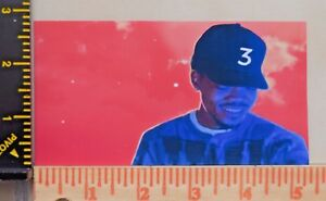 Image Is Loading Chance The Rapper Vinyl Sticker 3 Coloring Book