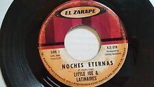 "LITTLE JOE & LATINAIRES - Noches Eternas / Adelita TEJANO TEX-MEX Ranchera 7"""