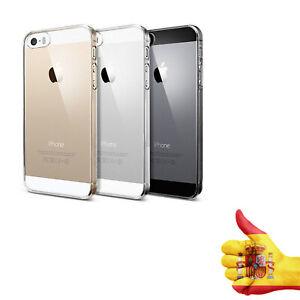 Comprar Funda Antigolpe para iPhone 5 / 5S / SE Gel Transparente