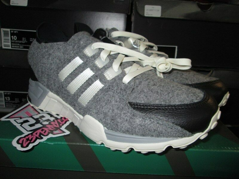 SALE ADIDAS EQUIPUomoT EQT RUNNING SUPPORT AQ8454 WOOL GREY CORE BLACK WHITE NEW