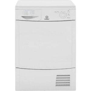 Indesit-IDC8T3B-Eco-Time-B-Rated-8Kg-Condenser-Tumble-Dryer-White