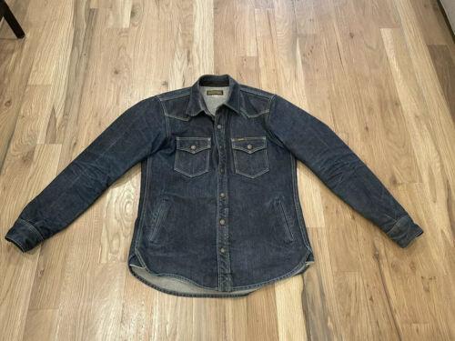 iron heart denim shirt