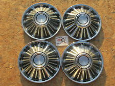 New Listing1967 Ford Fairlane Falcon 14 Wheel Covers Hubcaps Set Of 4