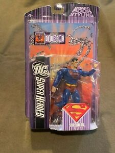 DC-Super-Heroes-Superman-Action-Figure-Includes-Diorama-NEW-MIP