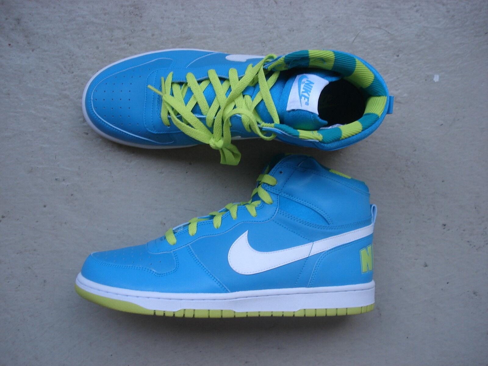 Nike Air Big High 45 Turquoise/LIme Green