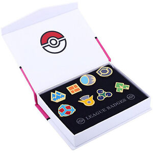 Pokemon-Gym-Badges-8-Pcs-SINNOH-LEAGUE-Pocket-Monsters-SINNOH-Region-Gen-V
