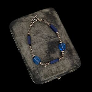 Poli Vintage Filigrane Swirl Bracelet en argent sterling