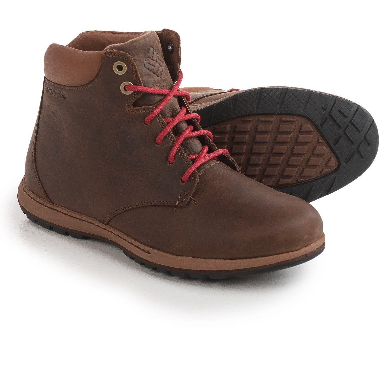 New Men`s Columbia Davenport XTM Boots Waterproof Leather MSRP 130