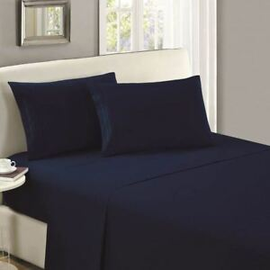 Mellanni-1800-Collection-Microfiber-Flat-Sheet-Wrinkle-Fade-Stain-Resistant