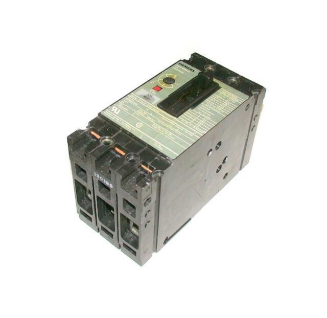 SIEMENS  ED63A040   3-POLE CIRCUIT BREAKER 600 VAC 40 AMP