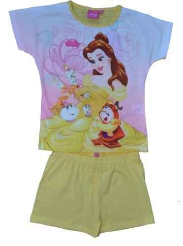 Girls Disney Beauty and Beast MLP Summer Pyjamas Pjs Ages 3 to 10 Yrs Shopkins