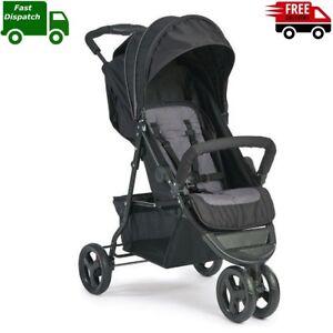 Orange Stroller Lightweight Buggy Easy Fold Travel Stroller with Carry Bag UK