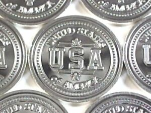 1-Gram-999-Fine-Silver-Solid-Bullion-Art-Bar-034-USA-034