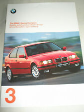 BMW 3 Series Compact brochure 1997 ed 1