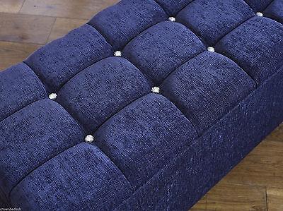 Beds & Mattresses Blanket Box And Ottoman Storage Box Divan Box,new Bed Frames & Divan Bases