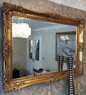 Antique Wall Mirrors Decorative, Vintage Large Wall Mirrors