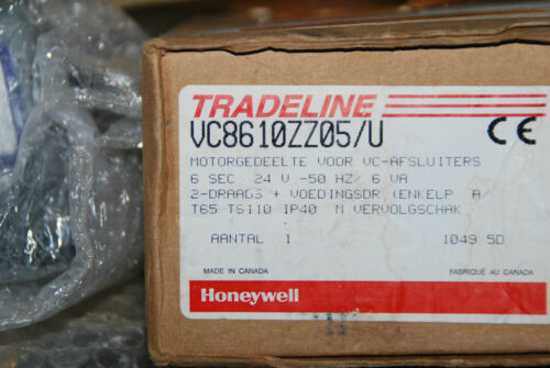 HONEYWELL VC8610ZZ05//U ERSATZANTRIEB DREIWEGEVENTIL MOTOR 24V 50 HZ VC8610 NEU