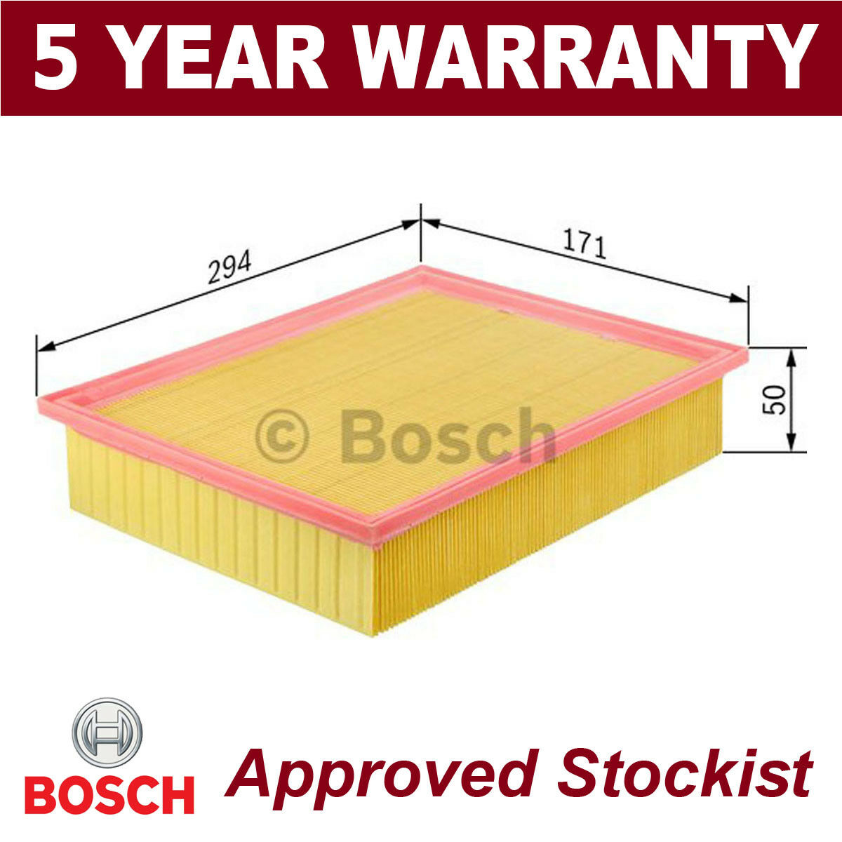 Bosch F026400035 Air-Filter Insert
