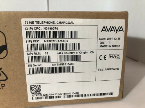 Telecom Systems Brand new * Avaya Norstar Nortel T7316e Telephone ...