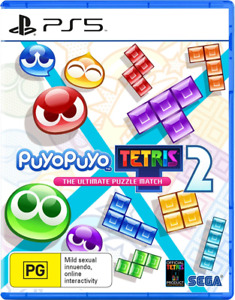 Puyo Puyo Tetris 2 Launch Edition PS5 Game NEW