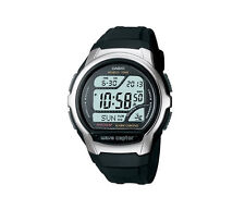 Casio Wave Ceptor Radio Controlled Digital Mens Wrist Watch WV58U1AV Black Strap