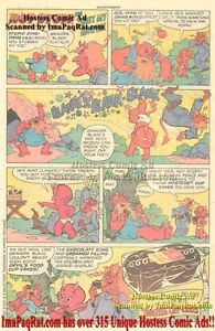 Details about Hostess Cup Cakes: Hot Stuff in Shut My Mouth!: Great  Original Comic Print Ad!