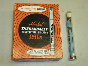 Markal THERMOMELT TEMPERATURE INDICATOR STIK 66° C 150° F NOS
