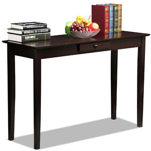 Contemporary console table desk accent furniture hall for Accent furnitureable