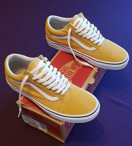 Vans Old Skool Authentic Yellow White Size 9 Visit Our Ebay Store Ebay
