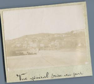 Algerie-Philippeville-Skikda-Vue-generale-prise-du-Port-Vintage-citr
