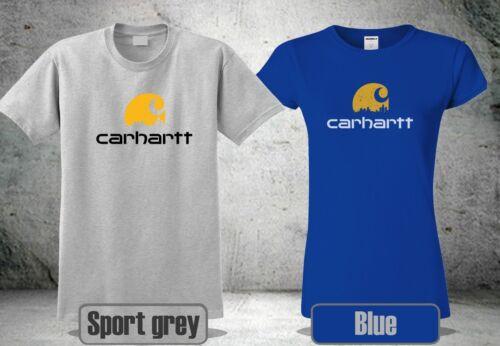 CARHARTT K195 T-SHIRT SIGNATURE LOGO /&WOMEN MEN INSPIRED COOL GP1 2