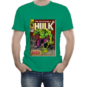 Anni Colore 3 Comics Maglietta Verde Bambino T Shirt Marvel 4 Hulk Ib6gyvmYf7
