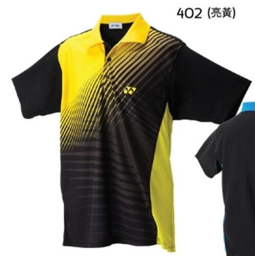 Made in Taiwan Very High Quality Yonex Mens Sport Shirt 11604-402