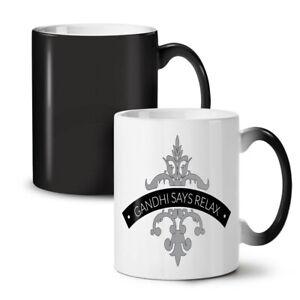 Relax Keep Calm Slogan NEW Colour Changing Tea Coffee Mug 11 oz | Wellcoda