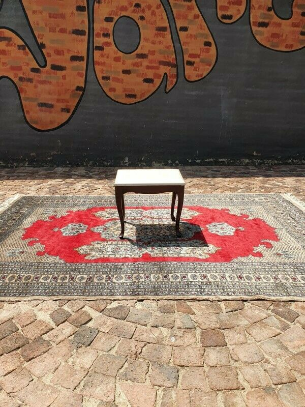 Queen Anne Dressing Table Stool