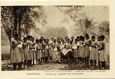 CARTE POSTALE / POSTCARD / CAMEROUN / DOUALA LA LECON DE BRODERIE