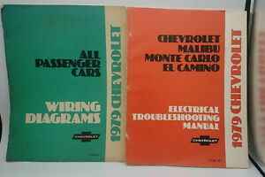 1979 Chevrolet Electrical Troubleshooting Manual & Wiring ...