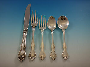 Modern Victorian by Lunt Sterling Silver Baked Potato Fork Custom 7 38