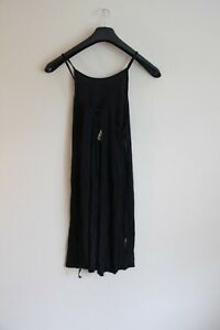 ROXY-WOMENS-BLACK-STRAP-DRESS-SIZE-SMALL