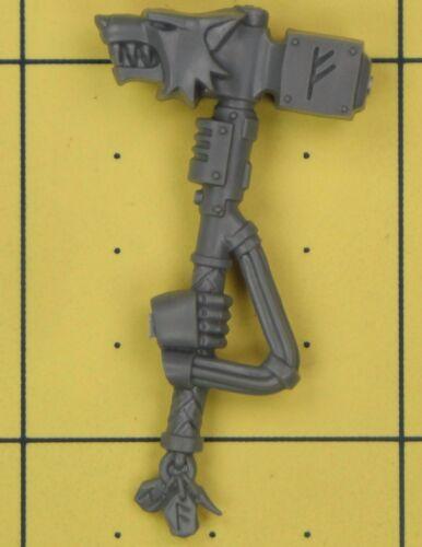 A Warhammer 40K Space Marines SW Wolf Guard Terminator Thunder Hammer