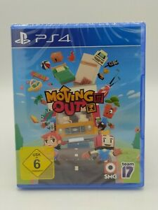 Moving Out PS4 Playstation 4 Mulitplayer Co-Op Spiel [Neuware / Sofortversand]