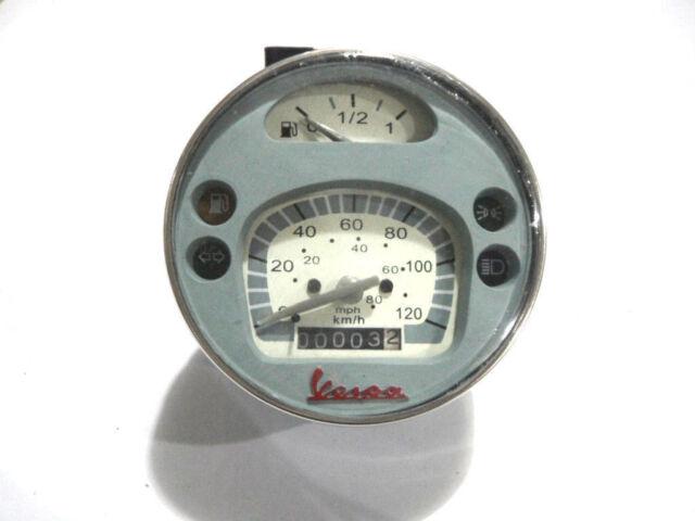 Vespa LML PX Lusso 80,125,150,200, Speedometer / Tacho 120Kmh / 80 MPH