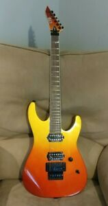NEW ESP LTD M-400 Guitar, Floyd Rose, Pau Ferro Fingerboard, Solar Fade Metallic