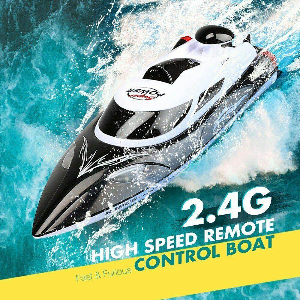 RC Boat High Speed Fast Ship With Cooling Water System Boat Double Layer Toys