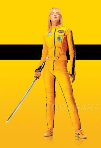 KILL BILL TEXTLESS MOVIE POSTER  FILM A4 A3 ART PRINT CINEMA