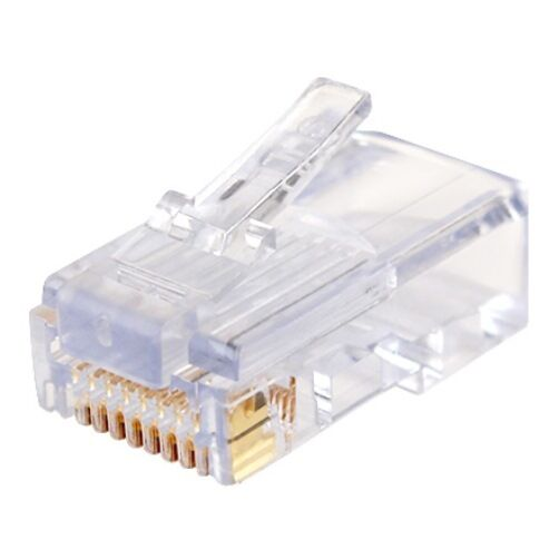 2 100-Pack Platinum Tools 202003J EZ-RJ45 CAT5E Connector